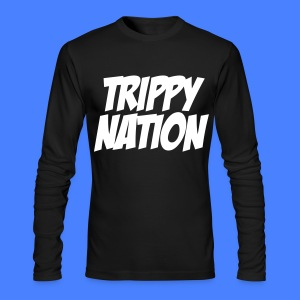 Trippy Nation Long Sleeve - stayflyclothing - Men's Long Sleeve T-Shirt by Next Level
