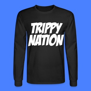Trippy Nation Long Sleeve - stayflyclothing.com - Men's Long Sleeve T-Shirt