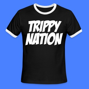 Trippy Nation T-Shirts - stayflyclothing.com - Men's Ringer T-Shirt