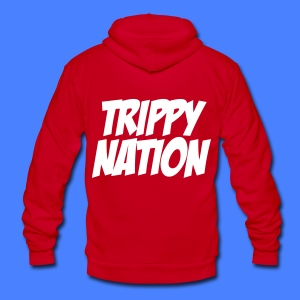 Trippy Nation Zip Hoodies - stayflyclothing.com - Unisex Fleece Zip Hoodie by American Apparel