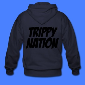 Trippy Nation Zip Hoodies - stayflyclothing.com - Men's Zip Hoodie