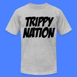 Trippy Nation T-Shirts - stayflyclothing.com - Men's T-Shirt by American Apparel