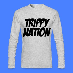 Trippy Nation Long Sleeve - stayflyclothing.com - Men's Long Sleeve T-Shirt by Next Level
