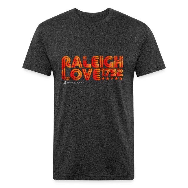 Retro Raleigh Love Men's T-Shirt