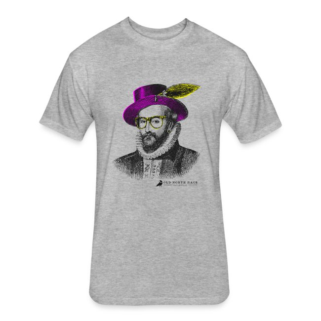 Hipster Sir Walter Raleigh T-Shirt