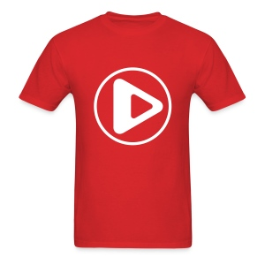 Play Button - Men's T-Shirt