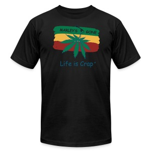 Marleys Gone -  Mens T-shirt by American Apparel - Men's T-Shirt by American Apparel