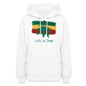 Marleys Gone - Womens Hooded Sweatshirt - Women's Hoodie