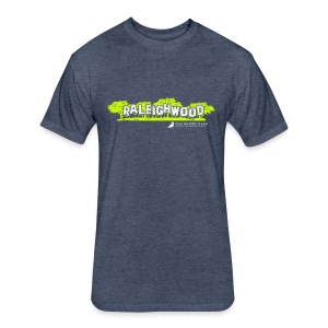Raleighwood Oak City T-Shirt - Fitted Cotton/Poly T-Shirt by Next Level
