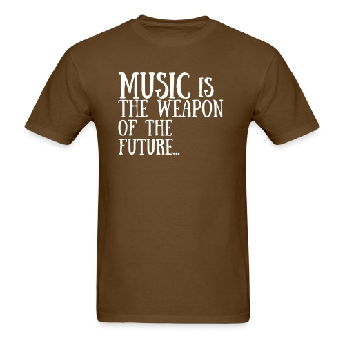 As Worn By Scott Stapp - Music Is The Weapon Of The Future... - Men's T-Shirt