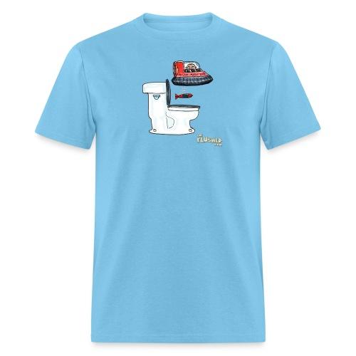 Toilet Hover (M) - Men's T-Shirt