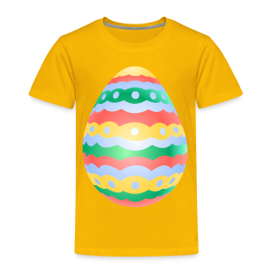 Easter Egg T-shirt Toddler Easter Shirts - Toddler Premium T-Shirt