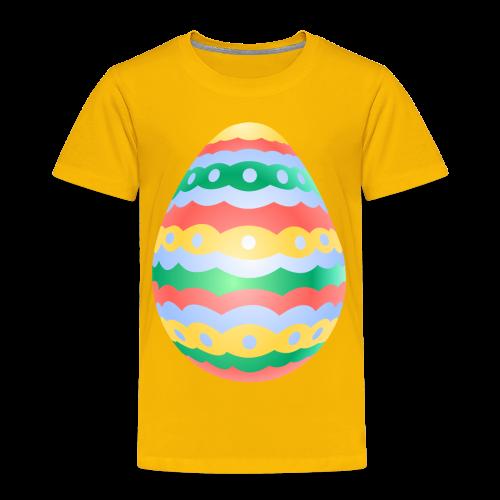 Easter Egg T-shirt Toddler Easter Shirts - Toddler Premium T-Shirt
