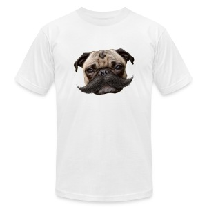 Hugo Mustachio for him - Men's T-Shirt by American Apparel