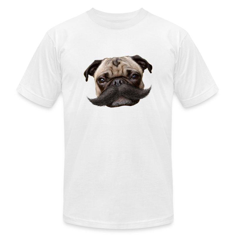 Hugo Mustachio for him - Men's Fine Jersey T-Shirt