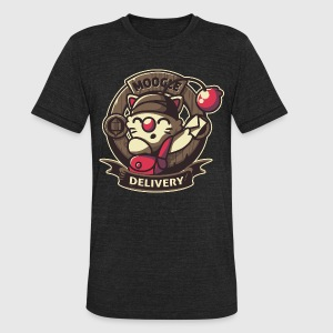 Moogle Delivery - Unisex Tri-Blend T-Shirt by American Apparel