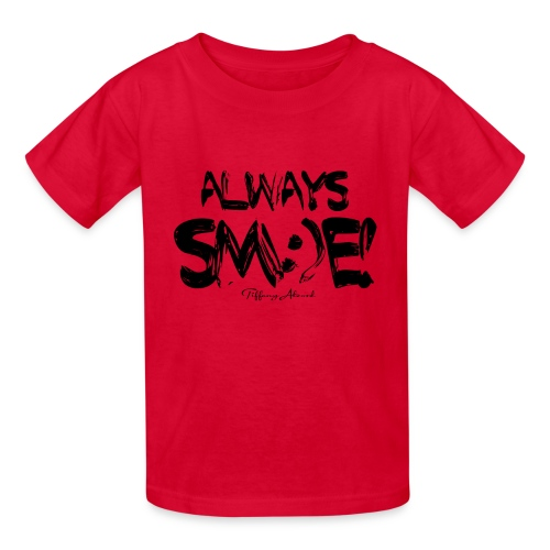 Always Sm:)e - Kids' T-Shirt
