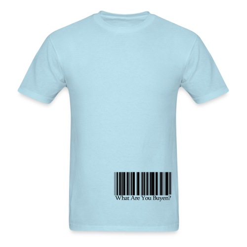 WAYB Barcode  - Men's T-Shirt