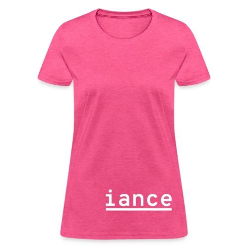 iance hanger shirt - Women's T-Shirt