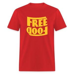 Free Food hanger shirt - Men's T-Shirt