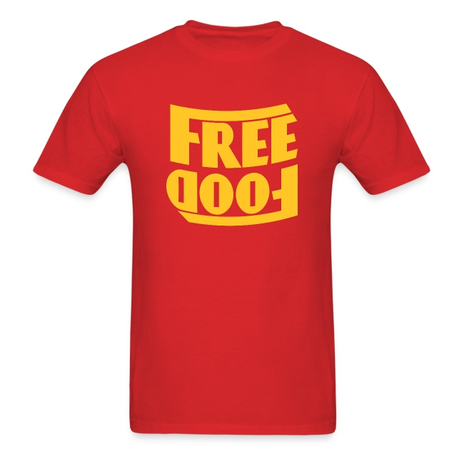Free Food hanger shirt