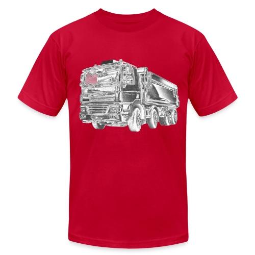 Dump Truck 8x4 - Men's  Jersey T-Shirt
