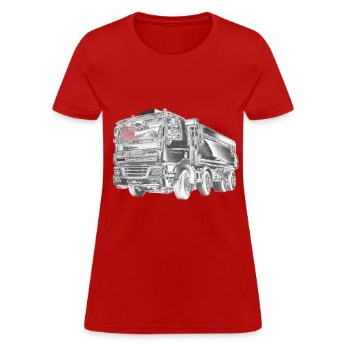 Dump Truck 8x4 - Women's T-Shirt