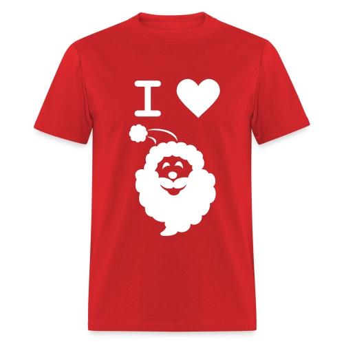I LOVE SANTA CLAUS - Men's T-Shirt - Men's T-Shirt