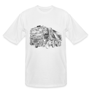 Dump Truck 8x4 - Men's Tall T-Shirt