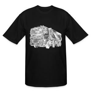Dump Truck 8x4 - Men's Tall T-Shirt