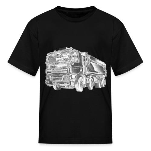 Dump Truck 8x4 - Kids' T-Shirt