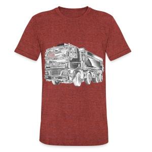 Dump Truck 8x4 - Unisex Tri-Blend T-Shirt