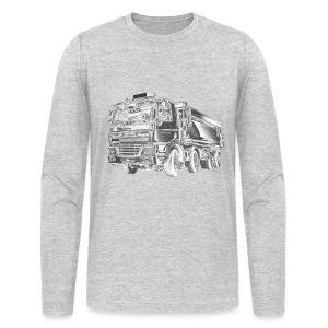 Dump Truck 8x4 - Men's Long Sleeve T-Shirt by Next Level