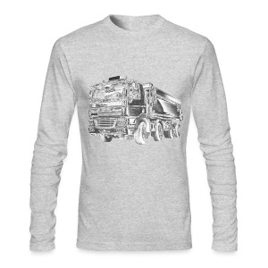 Dump Truck 8x4 - Men's Long Sleeve T-Shirt by Next Level