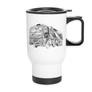 Dump Truck 8x4 - Travel Mug