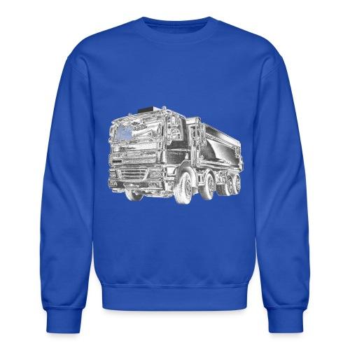 Dump Truck 8x4 - Crewneck Sweatshirt