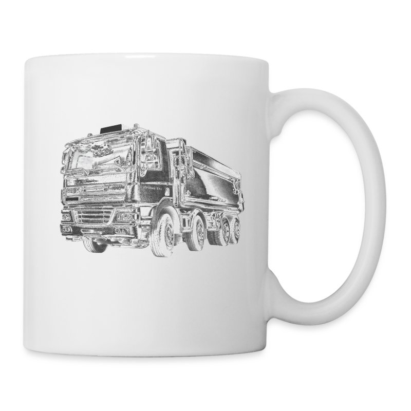 Dump Truck 8x4 - Coffee/Tea Mug