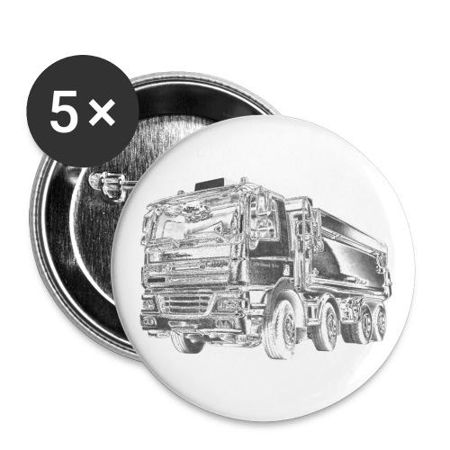 Dump Truck 8x4 - Small Buttons