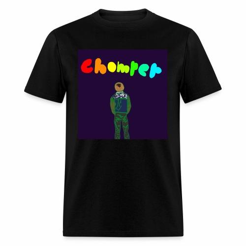 Rainbow logo drain CC - Men's T-Shirt