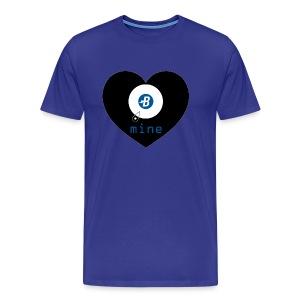 B-mine The Burstcoin miners shirt - Men's Premium T-Shirt