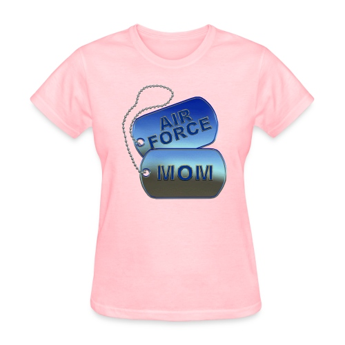Air Force Mom Dog Tags - Women's T-Shirt