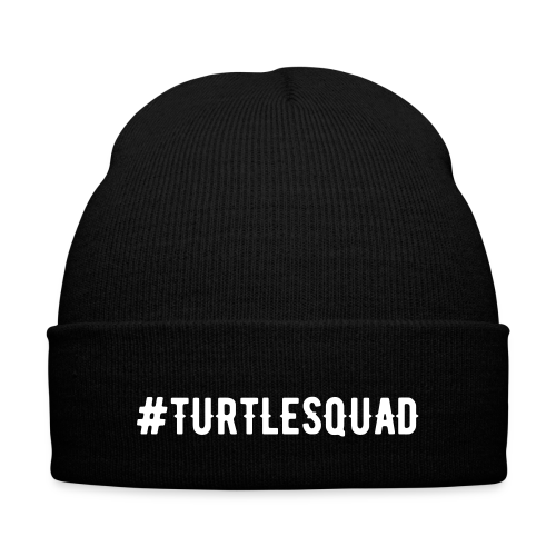 Turtle Squad Knit Cap - Knit Cap with Cuff Print