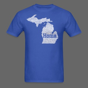Michigan Home - Men's T-Shirt