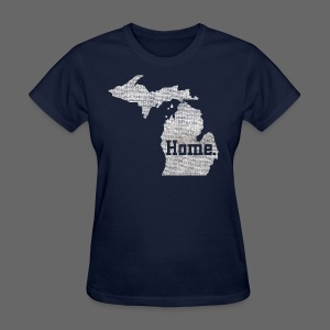 Michigan Home - Women's T-Shirt