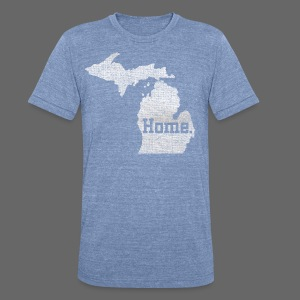 Michigan Home - Unisex Tri-Blend T-Shirt by American Apparel