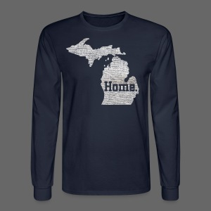 Michigan Home - Men's Long Sleeve T-Shirt