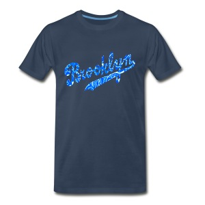 BLUE BROOKLYN - Men's Premium T-Shirt