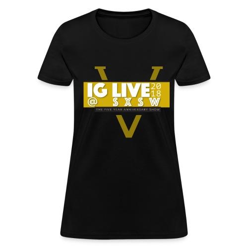 IG Live 5 Year Anniversary Shirt - Women's T-Shirt