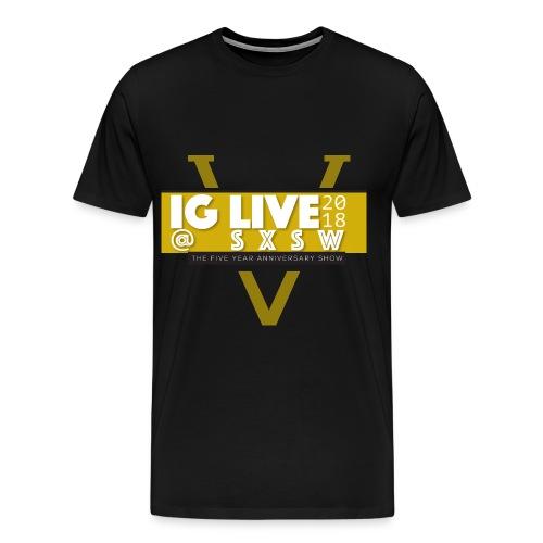 IG Live 5 Year Anniversary Shirt - Men's Premium T-Shirt