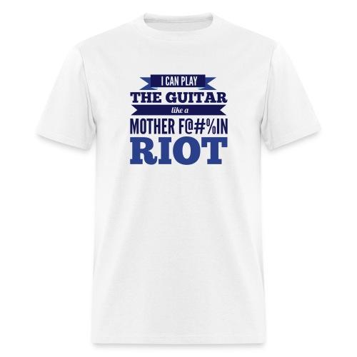 Play The Guitar - Men's T-Shirt